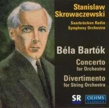 Bela Bartok (1881-1945): Divertimento für Streicher Sz.113, CD