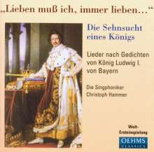 Die Singphoniker - Die Sehnsucht eines Königs, CD