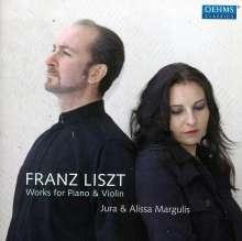 Franz Liszt (1811-1886): Musik für Violine & Klavier, CD