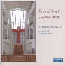 Christian Brembeck - Freu dich sehr, o meine Seele, CD