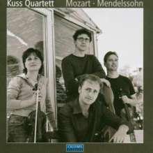 Kuss Quartett, CD