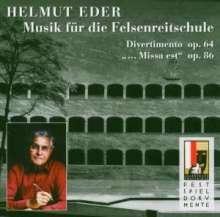 """Helmut Eder (1916-2005): Große Messe op. 86 """"Missa est"""", CD"""