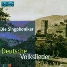 Die Singphoniker - Deutsche Volkslieder, CD