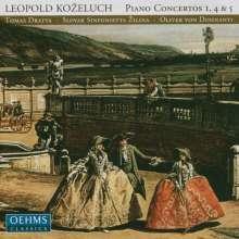 Leopold Kozeluch (1747-1818): Klavierkonzerte Nr. 1, 4, 5 (F-Dur, A-Dur, Es-Dur), CD