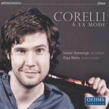 Arcangelo Corelli (1653-1713): Sonaten für Blockflöte & Bc op.5 Nr.7-12, CD