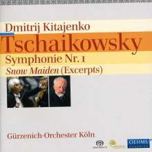 "Peter Iljitsch Tschaikowsky (1840-1893): Symphonie Nr.1 ""Winterträume"", Super Audio CD"