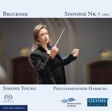 Anton Bruckner (1824-1896): Symphonie Nr.7, Super Audio CD