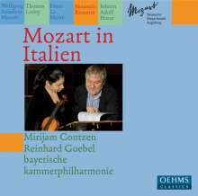 Mirijam Contzen - Mozart in Italien, CD