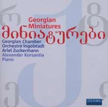Georgische Miniaturen, CD