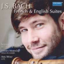 Johann Sebastian Bach (1685-1750): Werke für Blockflöte, Viola da gamba, Laute, CD
