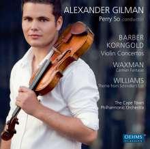 Alexander Gilman spielt Violinkonzerte, CD
