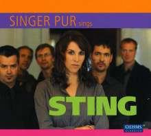 Singer Pur sings Sting, CD