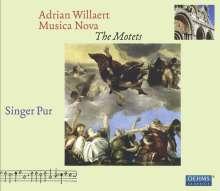 Adrian Willaert (1490-1562): Musica Nova - Die Motetten, 3 CDs