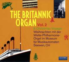 The Britannic Organ 2 - A Christmas Voyage, CD