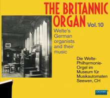 The Britannic Organ 10 - Welte's German organists and their music, 2 CDs