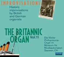 The Britannic Organ 11 - Improvisations, 2 CDs