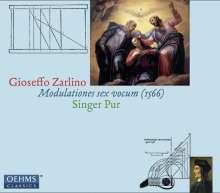 """Gioseffo Zarlino (1517-1590): Motetten """"Modulationes sex vocum"""" (1566), CD"""
