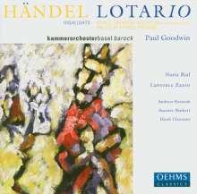 Georg Friedrich Händel (1685-1759): Lotario (Ausz.), CD
