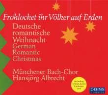 Münchener Bach-Chor - Frohlocket ihr Völker auf Erden, CD