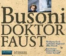 Ferruccio Busoni (1866-1924): Doktor Faust, 3 CDs