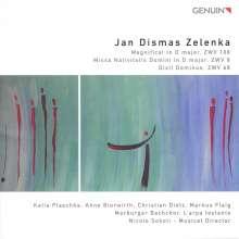 Jan Dismas Zelenka (1679-1745): Missa Nativitatis Domini D-Dur ZWV 8, CD