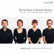 sonic.art Saxophonquartett  - Philip Glass & Michael Nyman, CD