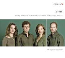 György Kurtag (geb. 1926): Officium breve in memoriam Andreae Szervanskzy op.28 für Streichquartett, CD