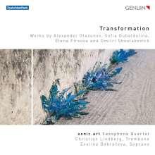 sonic.art Saxophonquartett  - Transformation, CD