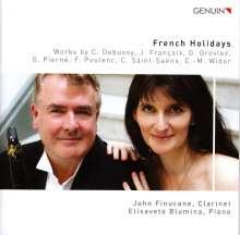 John Finucane & Elisaveta Blumina - French Holidays, CD
