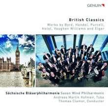 Sächsische Bläserakademie - British Classics, CD