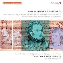 """Franz Schubert (1797-1828): Sämtliche Chorwerke für Männerchor Vol.6 """"Perspecitves on Schubert"""", CD"""