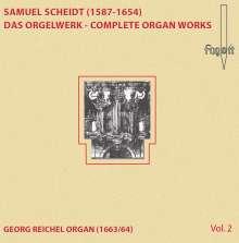 Samuel Scheidt (1587-1654): Das Orgelwerk Vol.2, CD