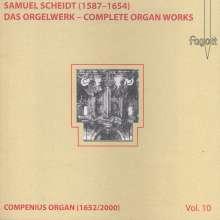 Samuel Scheidt (1587-1654): Das Orgelwerk Vol.10, CD
