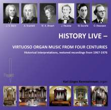 Karl-Jürgen Kemmelmeyer - History Live, CD