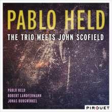 Pablo Held (geb. 1986): The Trio Meets John Scofield, CD