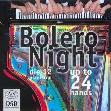 Die 12 Pianisten - Bolero Night, Super Audio CD