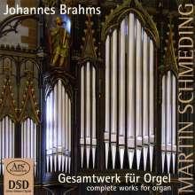 Johannes Brahms (1833-1897): Orgelwerke, Super Audio CD