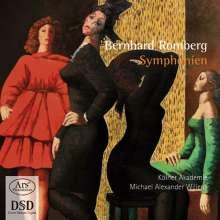 Bernhard Romberg (1767-1841): Symphonien Nr.2 & 3, Super Audio CD