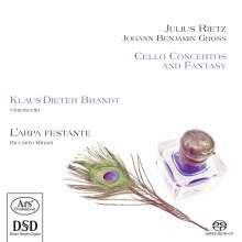 Julius Rietz (1812-1877): Cellokonzert op.16, Super Audio CD
