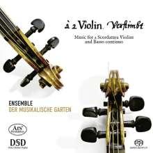 a 2 Violin. verstimbt - Musik für 2 skordierte Violinen & Bc, Super Audio CD
