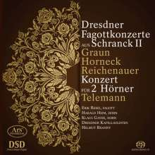 Dresdner Fagottkonzerte aus Schranck II, Super Audio CD