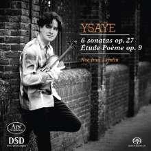 Eugene Ysaye (1858-1931): Sonaten für Violine solo op.27 Nr.1-6, Super Audio CD