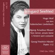 Legenden des Gesanges Vol.12 - Irmgard Seefried, CD