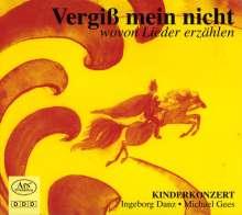 Ingeborg Danz - Vergiß mein nicht, CD