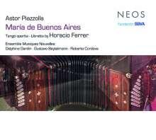 Astor Piazzolla (1921-1992): Maria de Buenos Aires, 2 Super Audio CDs