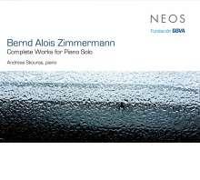 Bernd Alois Zimmermann (1918-1970): Klavierwerke, CD
