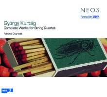 György Kurtag (geb. 1926): Sämtliche Werke für Streichquartett, Super Audio CD