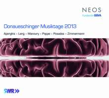Donaueschinger Musiktage 2013, 4 Super Audio CDs