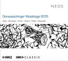 Donaueschinger Musiktage 2015, 2 Super Audio CDs