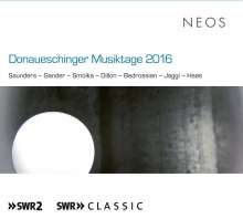 Donaueschinger Musiktage 2016, 2 Super Audio CDs